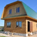 Строительство дома 6 на 9 из бруса - от фундамента до внутренней отделки.