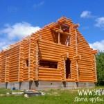 Дом из сруба 9 х 10, построен в городе Руза