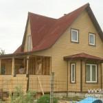 Отделка дачного дома, работы по отделке выполнены компанией Шувое