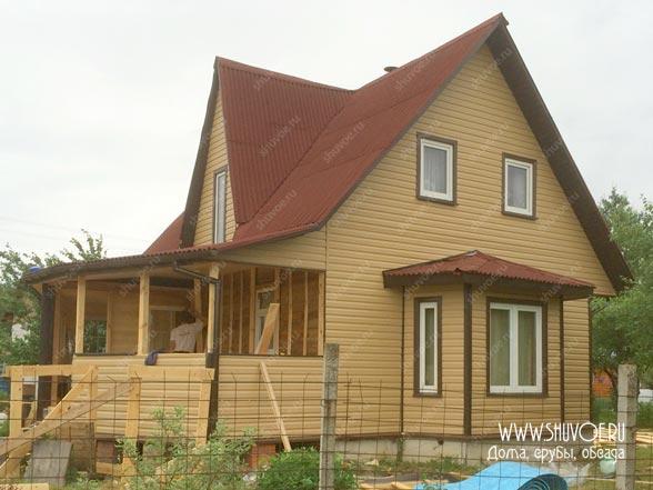 Деревянный дом деревне