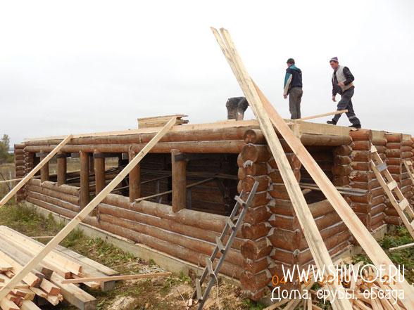 Строительство 2 этажа в бане