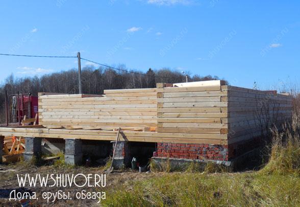 Строительство брусового дома - 2
