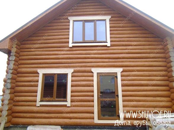 Окосячка окон и дверей с установкой пластиковых окон и деревянных наличников
