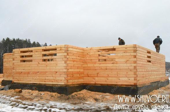 Строительство дома 10 на 11 метров
