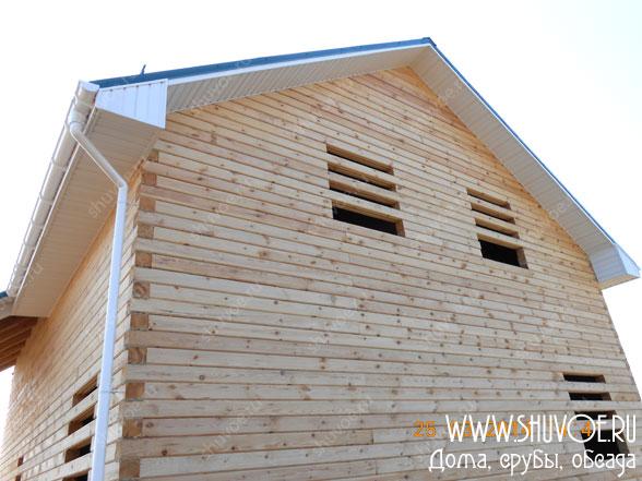 Система дождевого водоотлива в деревянном доме