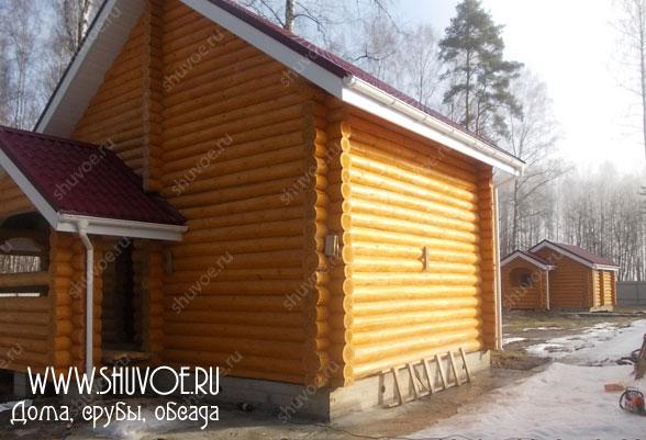 Окосячка дома и бани - отчет №1409