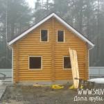 Обсада дома и бани - отчет №1409, компания Шувое