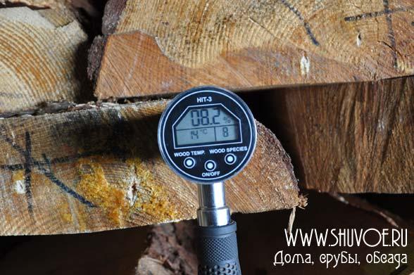 Лафет из массива сосны, влажность 8,2%