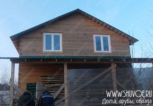 Окосячка и окна в брусовом доме