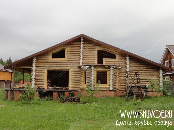 Обсада в деревянном доме, фото с установки