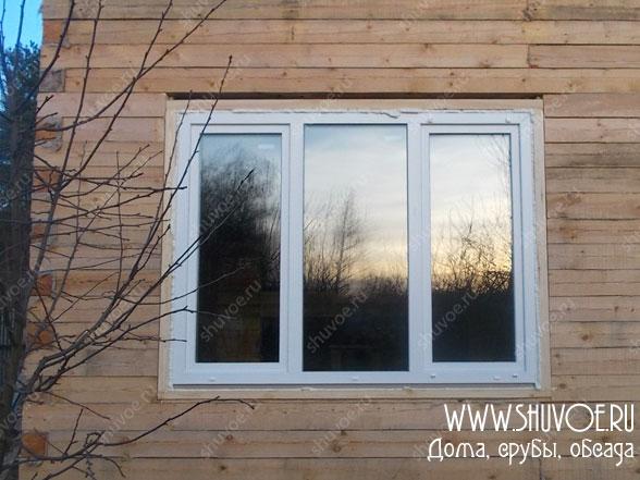 Пластиковые окна в деревянном доме - это просто.