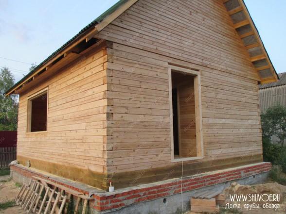 Установка обсады в брусовом доме - фото 1