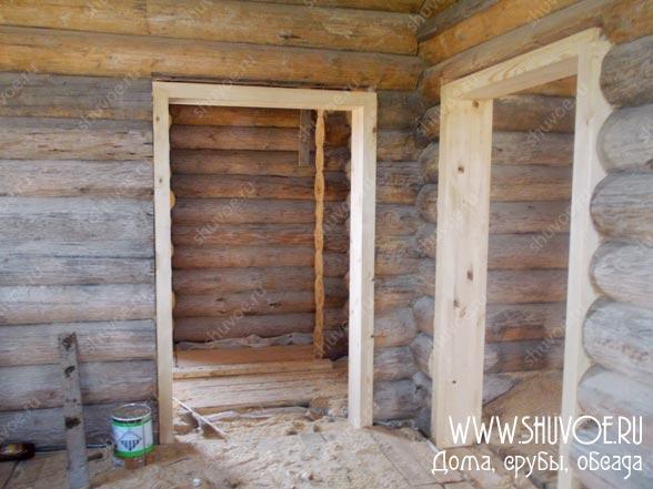 Обсада в деревянном доме, фото