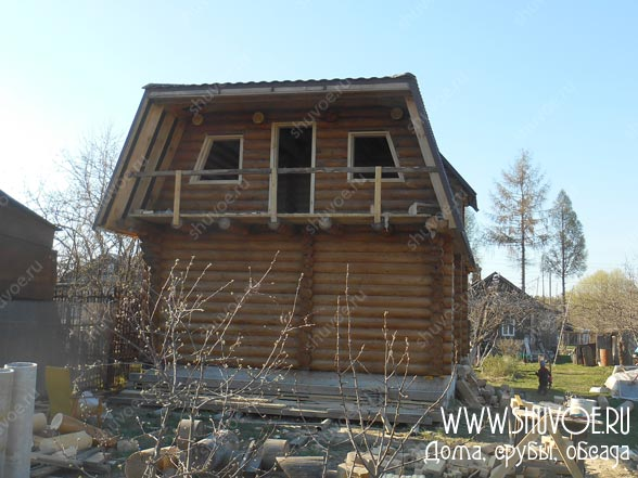 Фото обсады - установка в дачном доме
