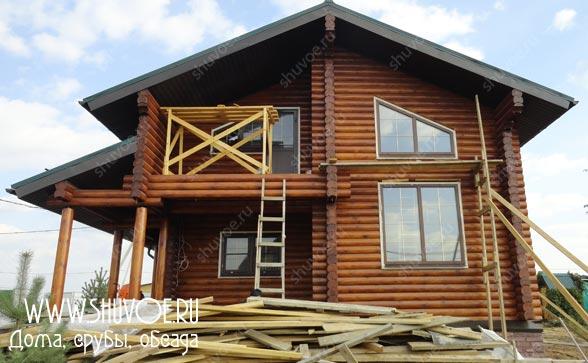Установка пластиковых окон в деревянном бревенчатом доме