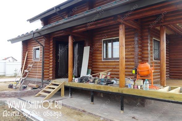 Установка дверей в деревянном доме