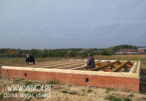 Строительство деревянного дома 8 8