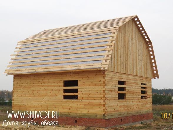 Строительство деревянного дома 8 8, фото 12