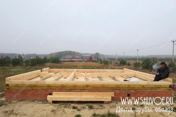Строительство деревянного дома 8 8, фото 2