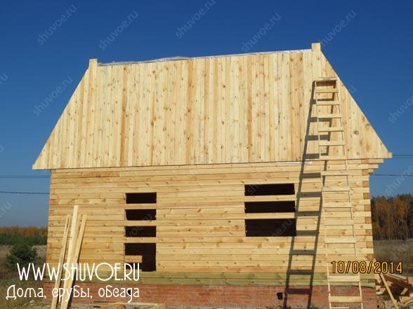 Строительство деревянного дома 8 8, фото 13