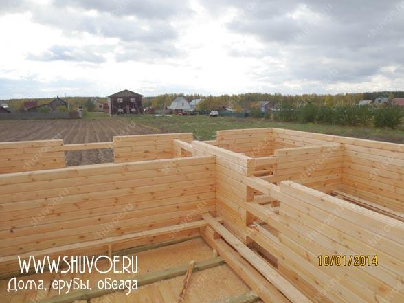 Строительство деревянного дома 8 8, фото 3