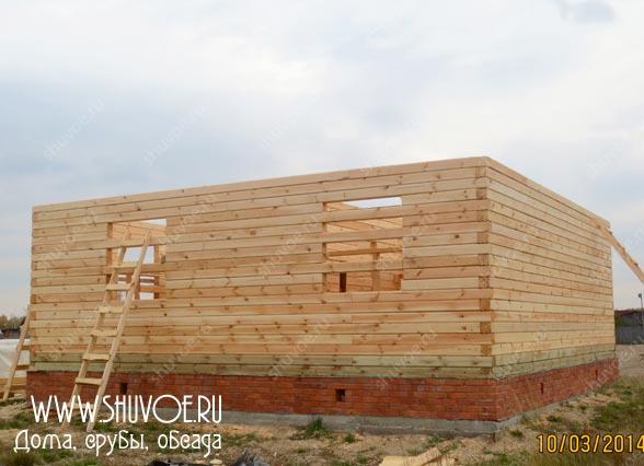 Строительство деревянного дома 8 8, фото 5
