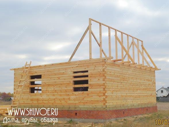 Строительство деревянного дома 8 8, фото 6