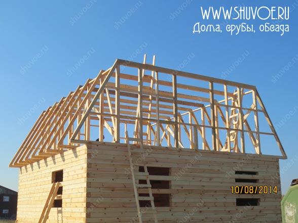 Строительство деревянного дома 8 8, фото 8