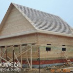 Проект и фото строительства брусового дома 9х10