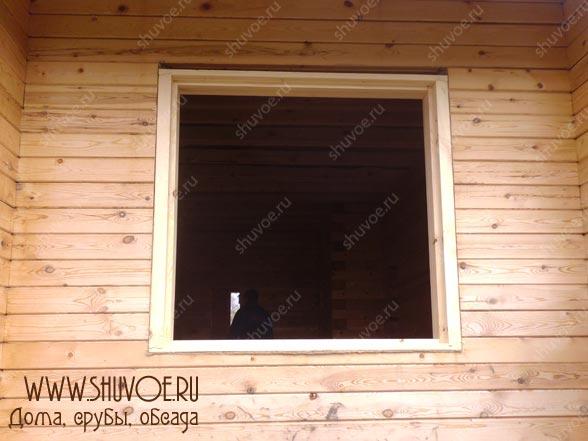 Установка окосячки для пластиковых окон, фото 7