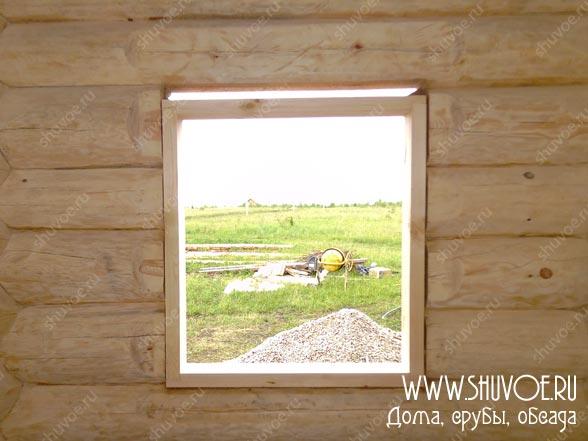 Установка обсады в деревянном доме с фото