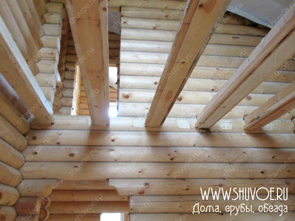 Отделка внутри деревянного дома, фото 10