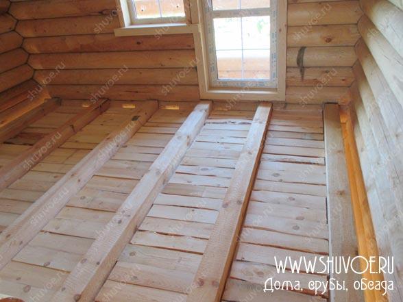 Отделка внутри деревянного дома, фото 11
