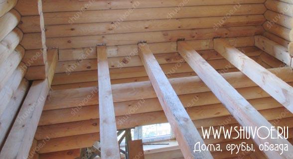 Отделка внутри деревянного дома, фото 12