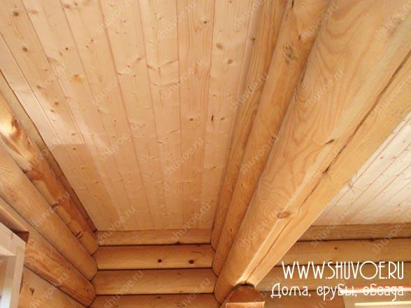 Отделка внутри деревянного дома, фото 14