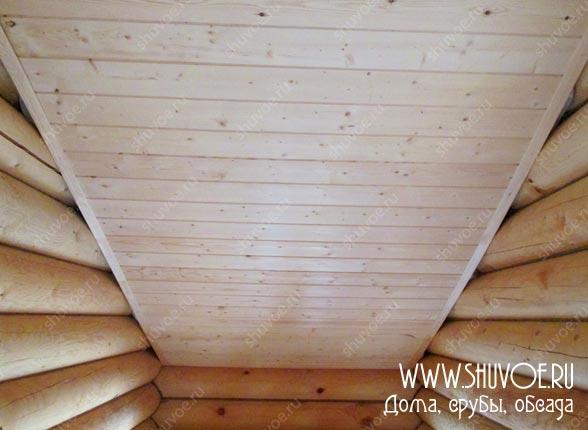 Отделка внутри деревянного дома, фото 17