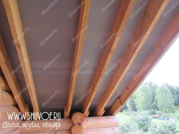 Отделка внутри деревянного дома, фото 19