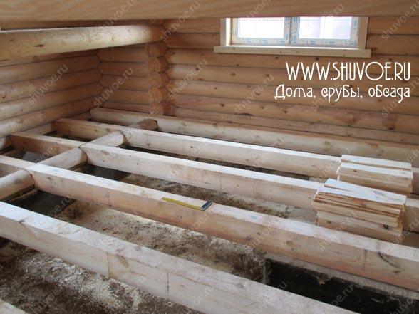 Отделка внутри деревянного дома, фото 2