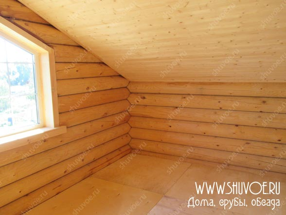 Отделка внутри деревянного дома, фото 20