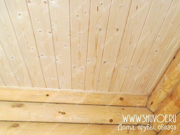 Отделка внутри деревянного дома, фото 21