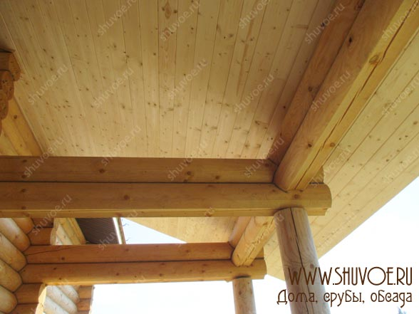 Отделка внутри деревянного дома, фото 23