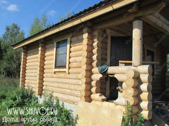 Отделка внутри деревянного дома, фото 24