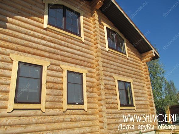 Отделка внутри деревянного дома, фото 25