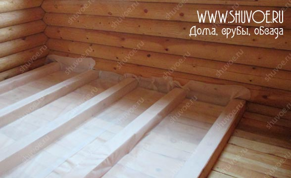 Отделка внутри деревянного дома, фото 3