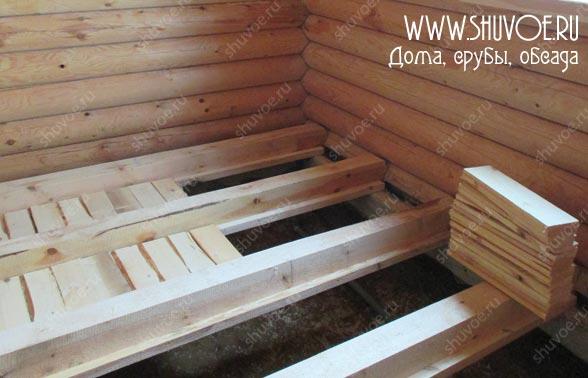 Отделка внутри деревянного дома, фото 4