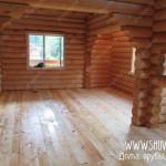 Отделка внутри деревянного дома, фото 7