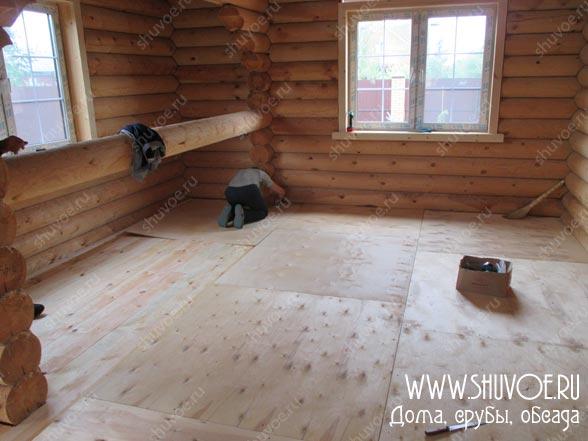 Отделка внутри деревянного дома, фото 8