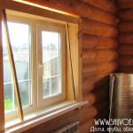 Откосы в деревянном доме, фото 1