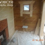 Внутренняя отделка деревянной бани