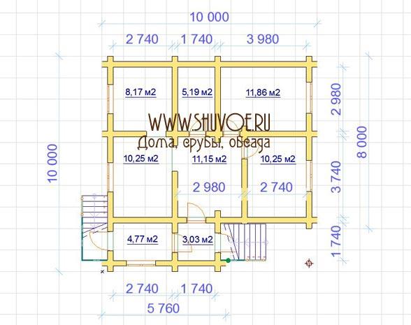 srub-10-10-proekt-3